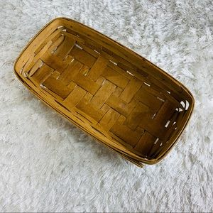 Longaberger Baskets bread Elongated 1986
